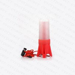 Mini résistant à l'eau Lampe torche à LED en plastique en aluminium télescopique