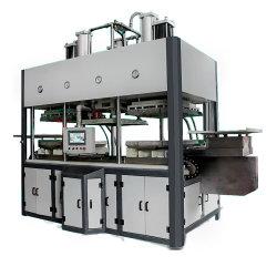 Bamboo Fiber Pulp Takaway Clamshell Fast Food Snack Box Bowl Machine maken