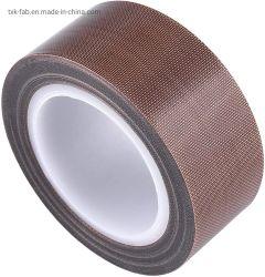 브라운 컬러 논스틱 PTFE 테플론 코팅 섬유 유리 천 자체 접착 밀봉 테이프