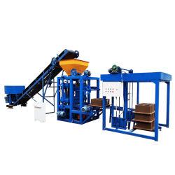 Macchina per la produzione di blocchi solidi per cemento semiautomatica Qt4-24 calcestruzzo Macchina per la produzione di mattone cavo in vendita su Stati Uniti