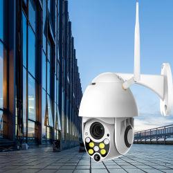 1080P PTZ WiFi lautes Summenai-Mensch der IP-Kamera-entdecken im Freien 4X Digital drahtlose Sicherheit 2MP CCTV-Kamera der Kamera-H. 265 P2p Onvif Audio