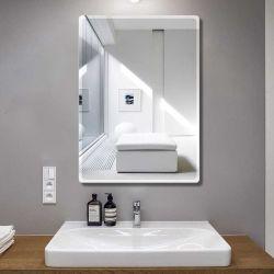 Specchio in alluminio parete in vetro Specchio decorativo per bagno e cabina