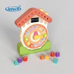 Les enfants de l'apprentissage de l'horloge temps prétendre Sound Jouets