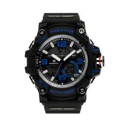 Montres hommes montre de sport a conduit à la mode Dos numérique montres en acier inoxydable pour cadeau (JY-SI030)