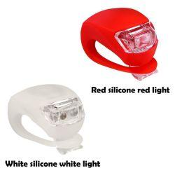regalo de promoción bicicleta LED Lámpara de seguridad Advertencia trasera y delantera Mini juego de luces de bicicleta