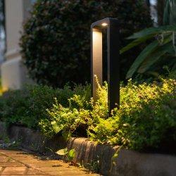 모래 까만 알루미늄 잔디밭 LED 모듈 볼러드 빛 기초