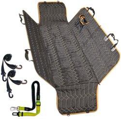 Chien voiture Housses de siège et de chien, plus durable de ceinture de sécurité résistante aux rayures de housse de siège de chien de siège arrière de stockage, antidérapant lavable chien voiture hamac pour différentes voitures