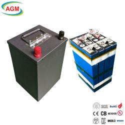 1C Descarga sobre 3000cycles 12V 12,8V 100ah Solar LiFePO4 litio Batería con BMS