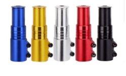 El tubo de cabeza de la horquilla de tallo de bicicletas bicicleta Bicicleta de Montaña el aumento de la Líder del dispositivo extensor de la agudización del dispositivo mayor