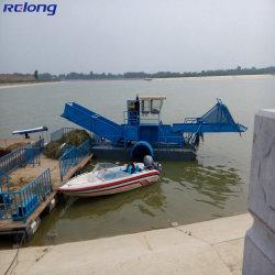 수확 프로젝트 저비용/경제성/연료 효율/소형/다리미/제조업체 Aquatic Weed Harvester for 판매