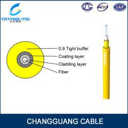 G652D de Optische Kabel GJFJV van het Jasje van het Garen PVC/LSZH van Aramid van de vezel
