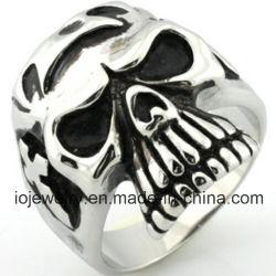 La mode Custom bagues en acier inoxydable 316L crâne de Bijoux pour hommes