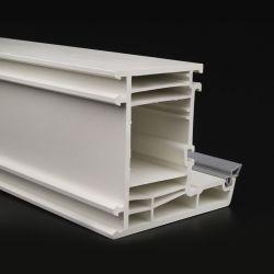 Profiel van pvc van de Kleur van het ivoor het Witte in Het Bouwmateriaal Van uitstekende kwaliteit