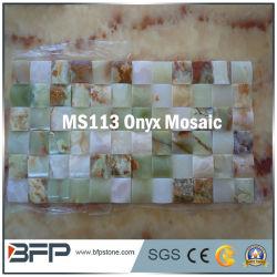Onyx de color de mezcla natural mosaico Mosaico Backsplash de pared de cocina