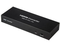 O HDMI para VGA YPbPr+++ Toslink R/L Conversor de áudio