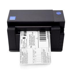 Beeprt der 4 Zoll-Barcode-der Kennsatz, der 110mm der direkte Aufkleber-Thermodrucker mit Selbstscherblock für Logistik versendet, drücken Industrie aus
