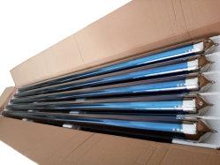 Trois All-Glass cible tube de dépression pour chauffe-eau solaire, évacué tube