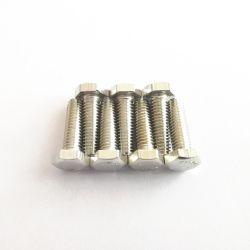 Корпус из нержавеющей стали с шестигранной головкой болты используется для строительства