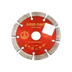 Diamond la lame de scie à disque pour la coupe de granite de roue