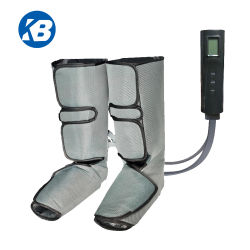 手持ち型のコントローラとの子牛筋肉循環のための空気圧縮の足のマッサージャー