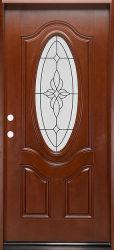 Schalldichtes doppeltes Blatt-Fiberglas-zusammengesetzte Inneneintrag-Tür