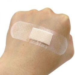 D'approvisionnement médical de l'aide de la bande transparente PE à usage unique