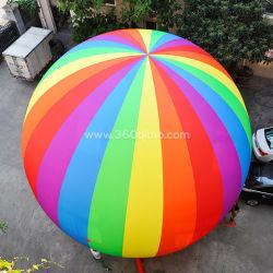 Kundenspezifischer Outdoor Bunte Werbeaktion Aufblasbarer Boden Ballon zum Verkauf