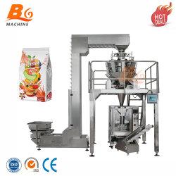 A Porca quente desidratado/frutas/legumes/Pipoca/Inchado/Grãos/Arroz/lascas/embalagem de alimentos de ensacamento de embalagem com a máquina totalmente automática