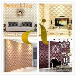 El bordado de cuero de PU de PVC sofá de cuero sintético mobiliario textil hogar
