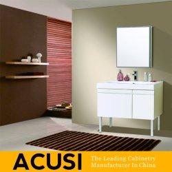 도매 미국식 심플한 스타일의 흰색 래커 욕실 가구 SanitarAnyware 베니티(ACS1-L10)