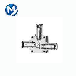 Пластиковые системы литьевого формования для уменьшения ПВХ тройник пластиковый Компрессионные фитинги