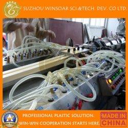 Het plastic Profiel die van de Hoek van Decrotive van de Steen van pvc van de Extruder Machines maken