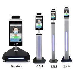 Sistema de Control de acceso dinámico con el reconocimiento facial y de imagen térmica de infrarrojos Cámara IP sistemas de reconocimiento facial de la Terminal de reconocimiento facial