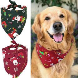 Il collare registrabile della sciarpa del tovagliolo del Bandana del cane del Bandana del cane di animale domestico di natale Pets gli accessori del costume per i rifornimenti miniatura di Pinpet dei piccoli cani di media