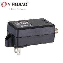 Preço baixo 18W receptor de satélite plugue de alimentação AC do adaptador