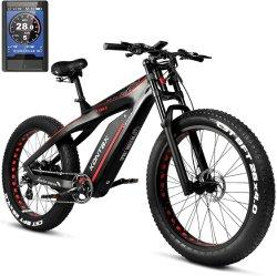 Modelo 2021 Super desempenho a fibra de carbono 48V 1000W de energia verde escondido de bicicletas eléctricas da bateria Aluguer de Bicicleta de pneu de gordura e bicicletas de montanha