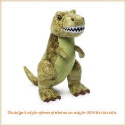 따끈따끈한 티라노사우루스(Tyrannosaurus)가 아이들을 위해 봉제 완구이 봉제(봉제