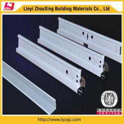 2020 Nouvelle conception de matériaux de construction de la grille de plafond suspendu plafond tendu Accessoires Plaine normale quille barre en T T24 Types