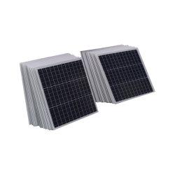 Высокая эффективность Polycrystalline 10W 20W 30W 40W 50W 60W 70W 80W 90W 100 Вт, 110 Вт, 120 Вт, 130 Вт, 140 Вт 150W солнечного света портативный модуль питания банк малых