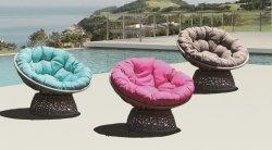 Garden Patio Leisure Rattan draagbare roterend stoel met 360 graden draaibaar