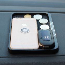 Salpicadero del coche de la Magia adhesiva antideslizante antideslizante Mat para teléfono móvil