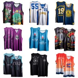 Super Hochwertiges 100% Polyester Quick Dry Custom Basketball Jersey
