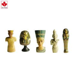 Figurine egiziano antico del Pharaoh di vendita della resina domestica Handmade calda della decorazione
