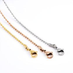Accessori moda Perle in acciaio inox Gioielli a catena Fashion Design per Collana bracciale regalo Artigianato Design
