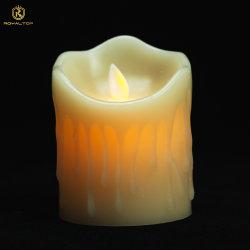 Home Decoratie LED flameless Candle oplaadbaar met afstandsbediening
