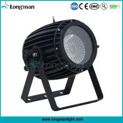 60W RGBW 4in1 실외 DMX 줌 LED 파캔