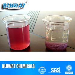Efluentes textiles Decoloring Polímero Productos químicos