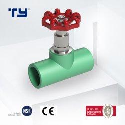 Пластиковый горячей водой сжатие PPR один из способов шаровой клапан фитинги