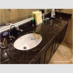 Природные классический Euronet B коричневого мрамора по разминированию слоя на кухонном столе/пол/Камин