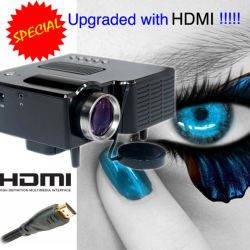 Low新しいPrice LED Projector Handy Video Projecteur HDMI Support 1920X1080 Home Games PS WiiのxBox Portable Projetor Projektor